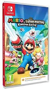 Mario + The Lapins Crétins Kingdom Battle Code In Box sur Nintendo Switch