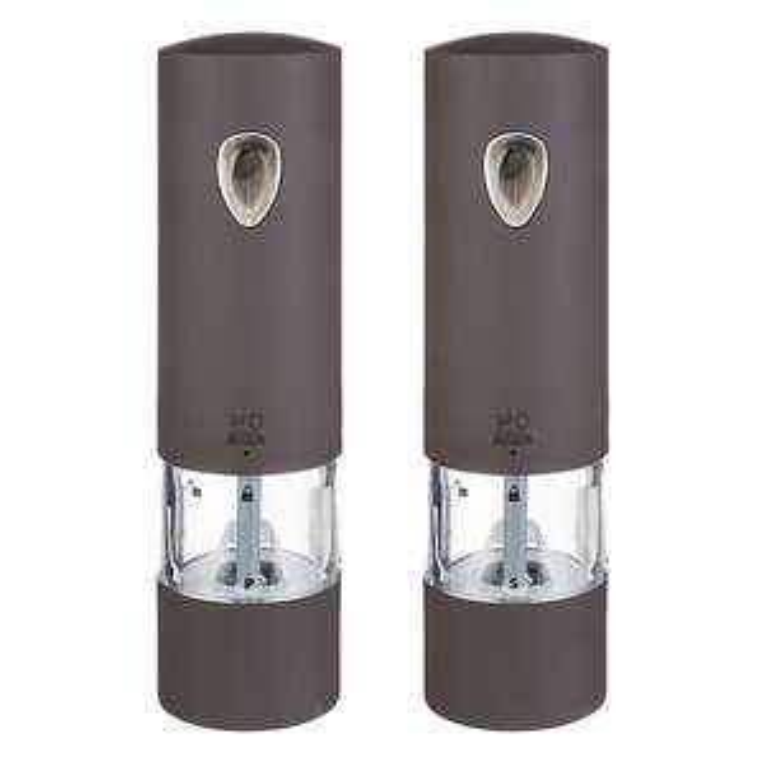 Duo moulin à poivre + moulin à sel électriques Peugeot Phenix