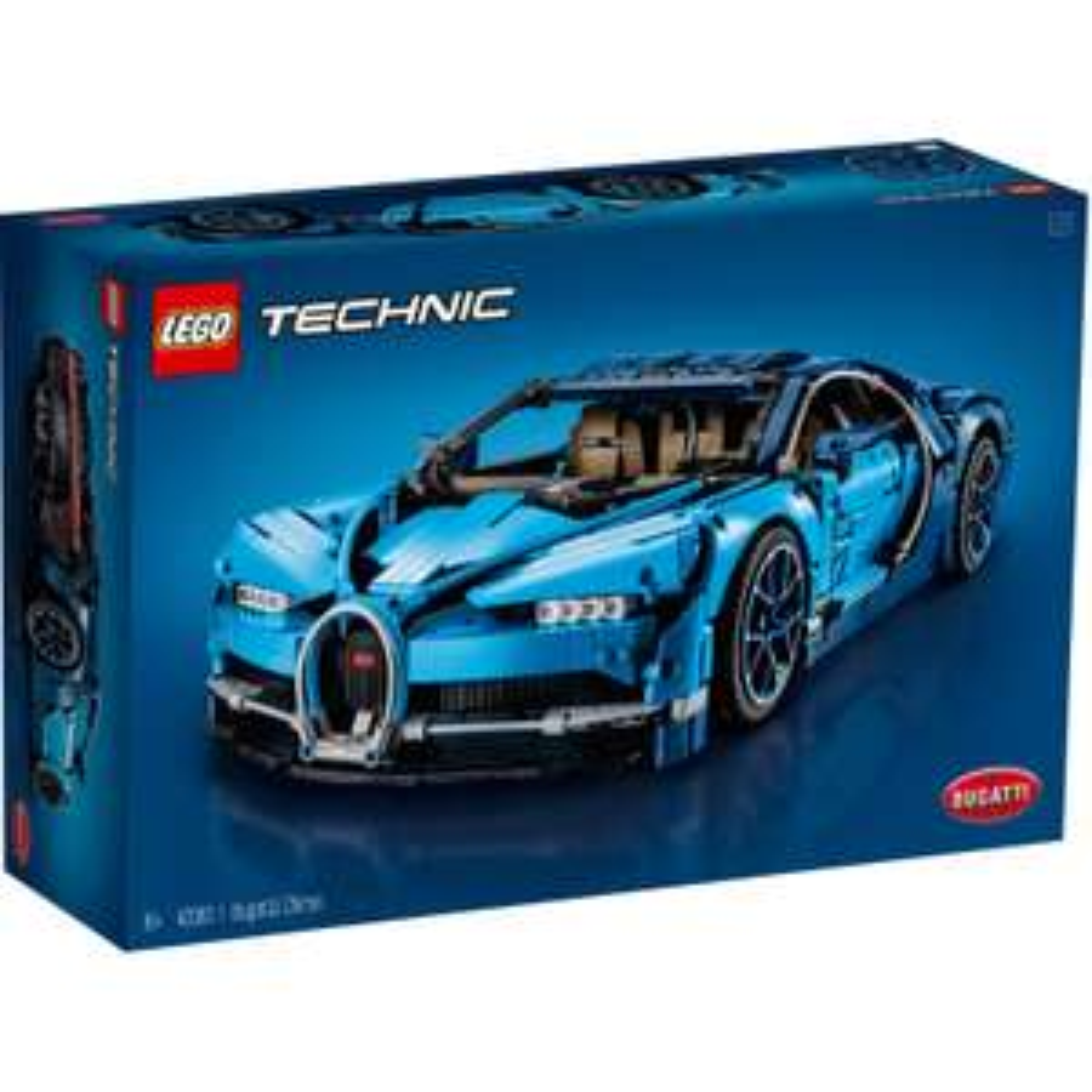 Jeu de Construction Lego Technic: Bugatti Chiron
