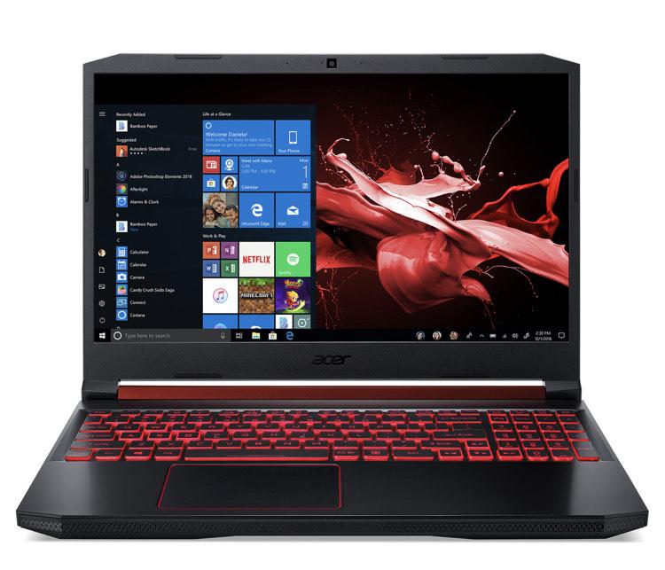 "PC Portable 15.6"" Acer AN515-54-59TP - i5 9300H, 1 To + SSD 128 Go, Geforce GTX 1650 4 Go"