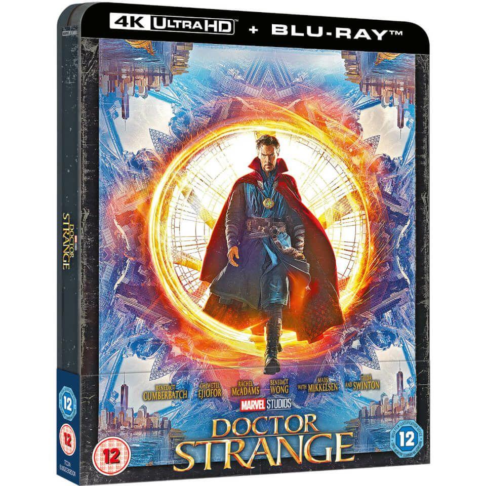 Blu-Ray + UHD 4K Doctor Strange Version Steelbook