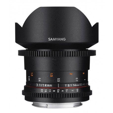 Objectif Samyang VDSLR 14mm T3.1 ED AS IF MFT (Photo24.fr)
