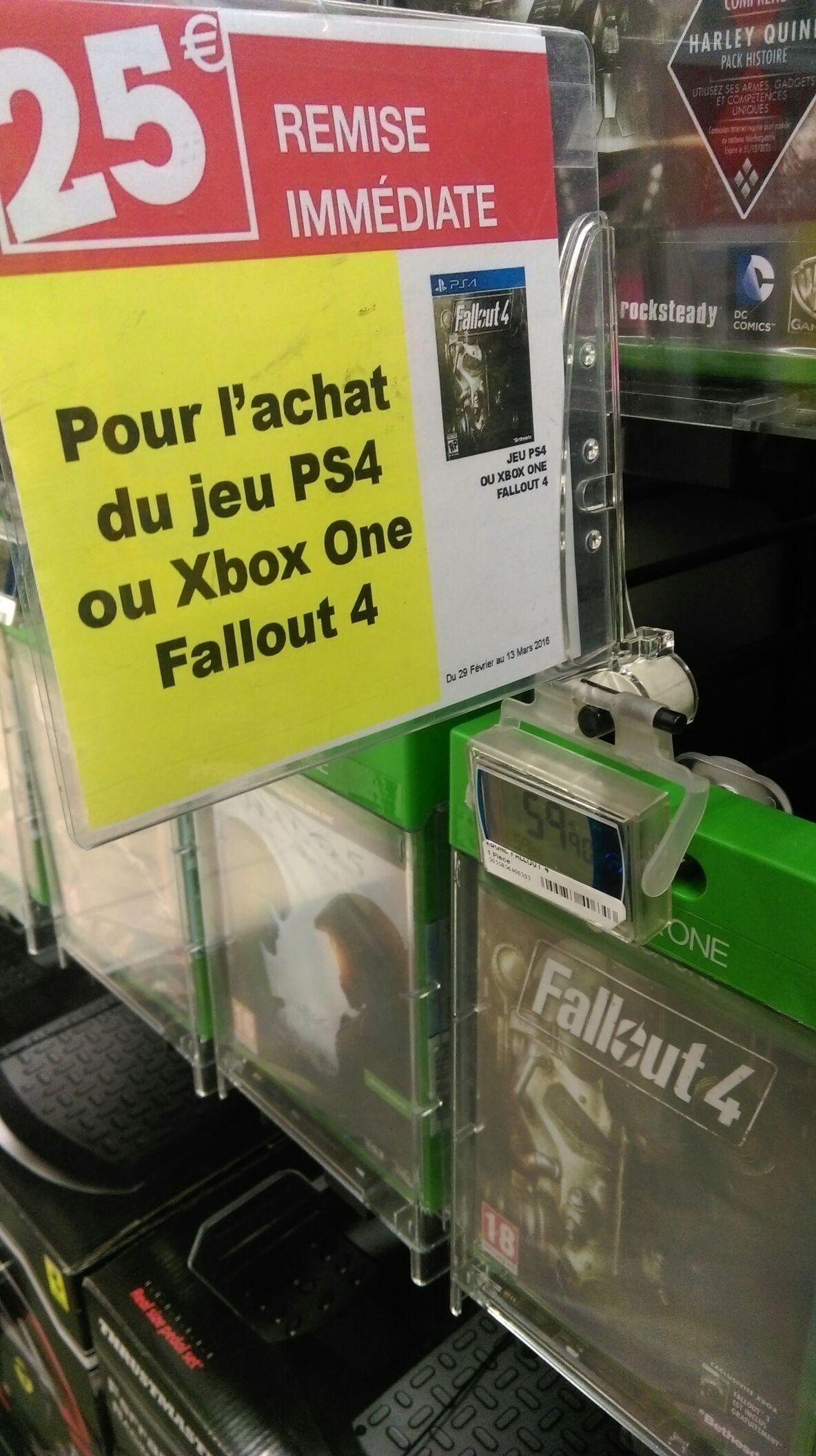 Fallout 4 sur PS4 et Xbox One