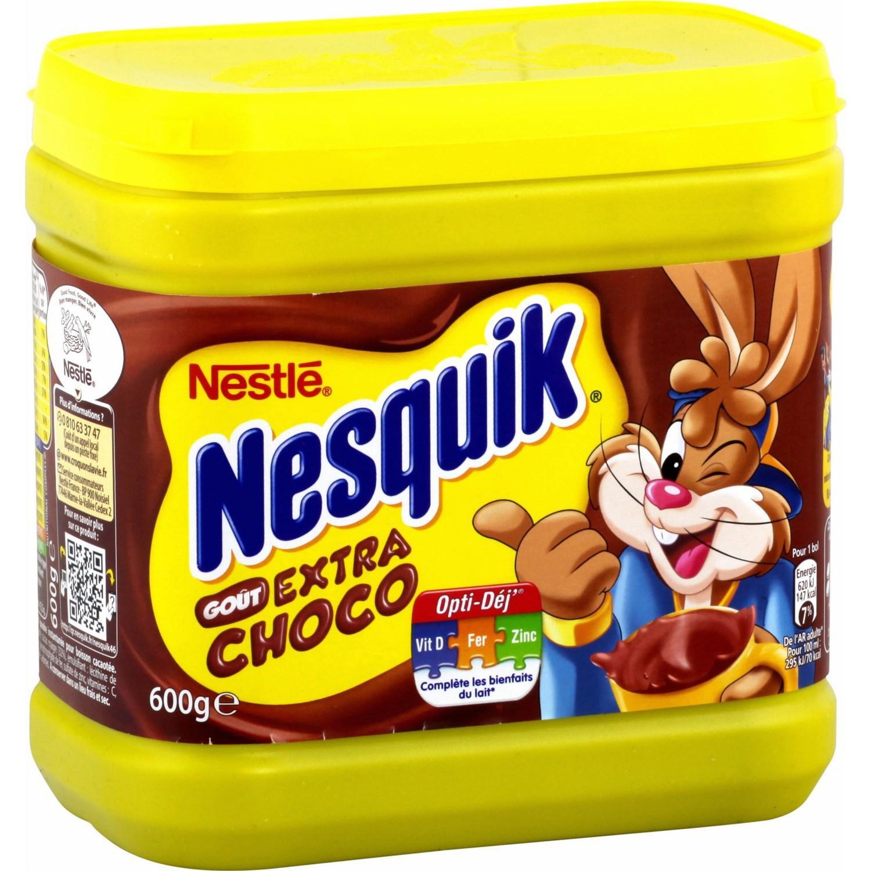 Boîte de Nesquik Extra Choco 600g (via Shopmium + BDR)