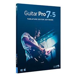 Logiciel d'édition de partition Arobas Music Guitar Pro 7.5 (version boîte) Sur PC et MAC