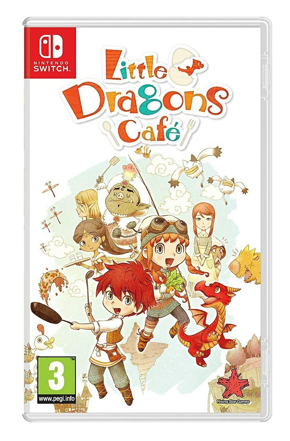 Little Dragons Café sur Nintendo Switch (Vendeur tiers)