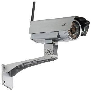 Caméra de surveillance extérieure Bluestork HD 720p WiFi à vision nocturne