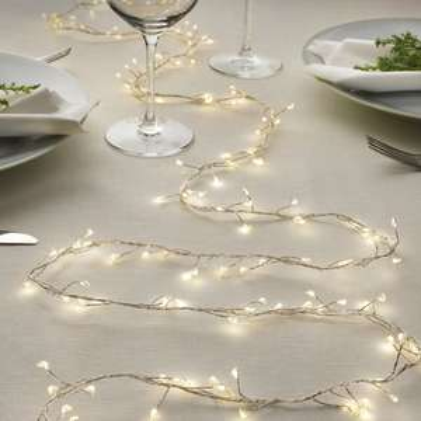 [Ikea Family] Guirlande à pile 160 LED Strala