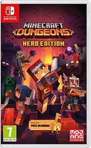 Minecraft Dungeons Hero Edition sur Switch