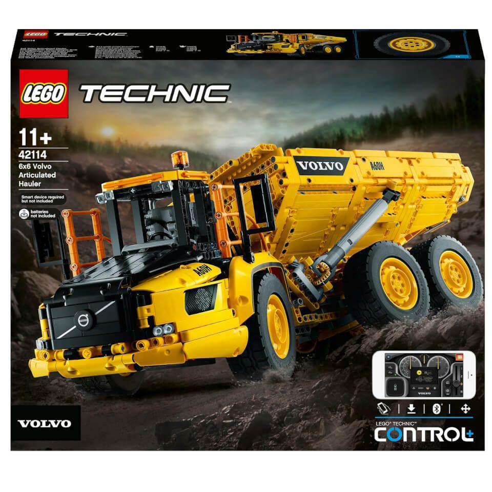 Jouet Lego Technic : Le tombereau articulé Volvo 6x6 (2193 pièces)