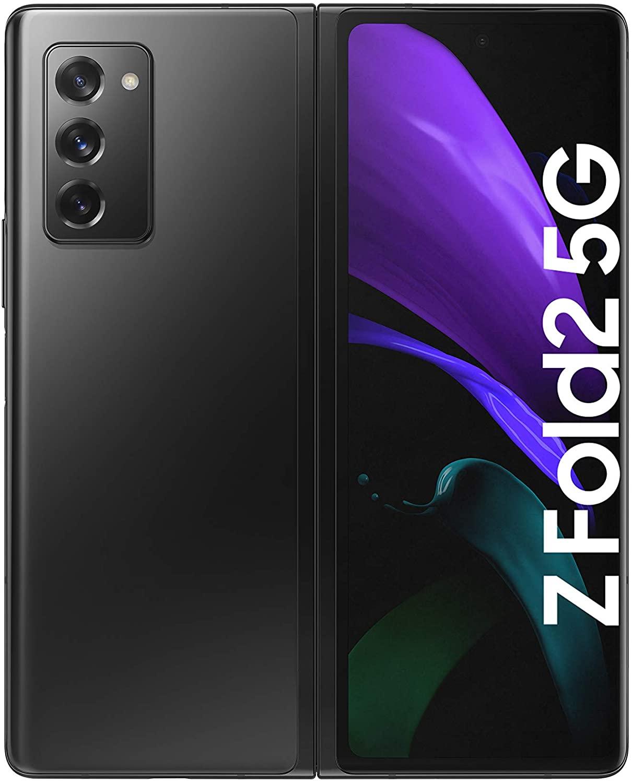 """Smartphone écran pliable 7.5"""" Samsung Galaxy Z Fold2 5G - Dual SIM, 256 Go, Écran extérieur 6,2"""" (Vendeur tiers)"""