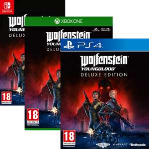 Wolfenstein Youngblood Deluxe Edition sur PS4, Xbox One, Switch