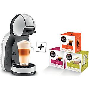 Cafetière Nescafé Dolce Gusto Krups Mini Me YY4211FD + 3 boîtes de capsules Lungo