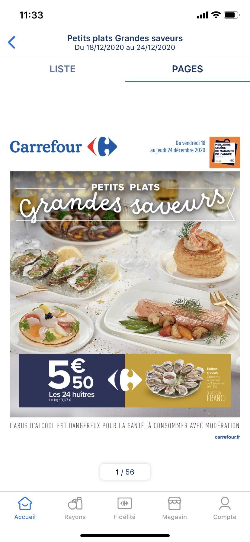Bourriche de 2 douzaines d'huîtres creuses - élevées en France
