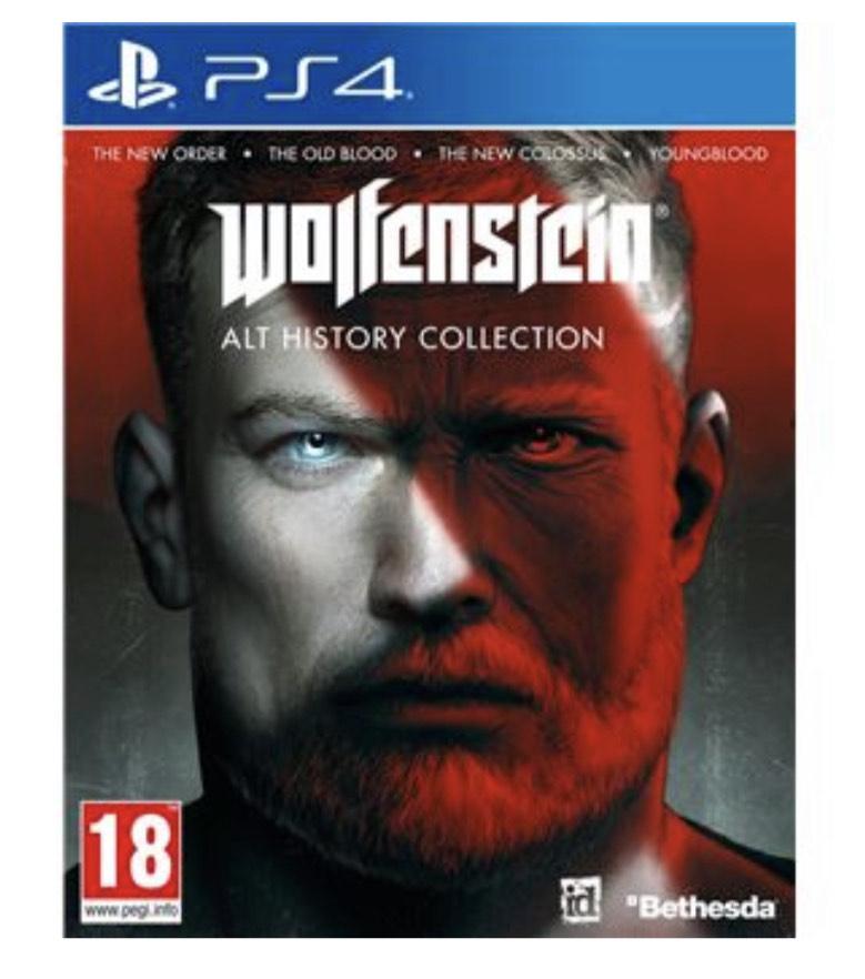 Wolfenstein : Alt History Collection sur PS4