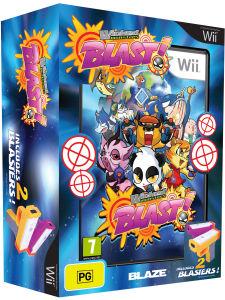 Wicked Monster Blast + 2 Blasters (Pistolets) Wii