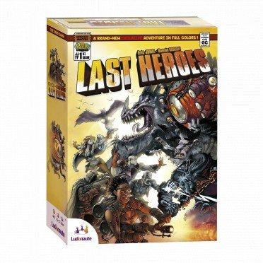 50% ou 70% de réduction sur une sélection de jeux de société BlackRock - Ex : Last Heroes