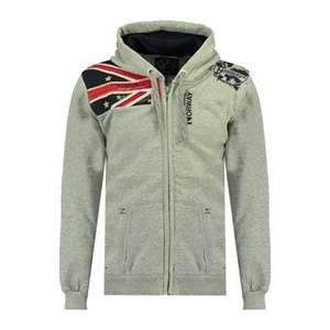 Sweat à capuche Geographical Norway Gatsby - Taille S ou XXL