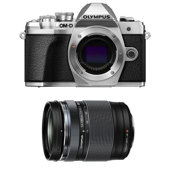 Kit appareil photo numérique Olympus OM-D E-M10 Mark III (16.1 Mpix, Live MOS, noir) + objectif 14-150mm II (vendeur tiers)