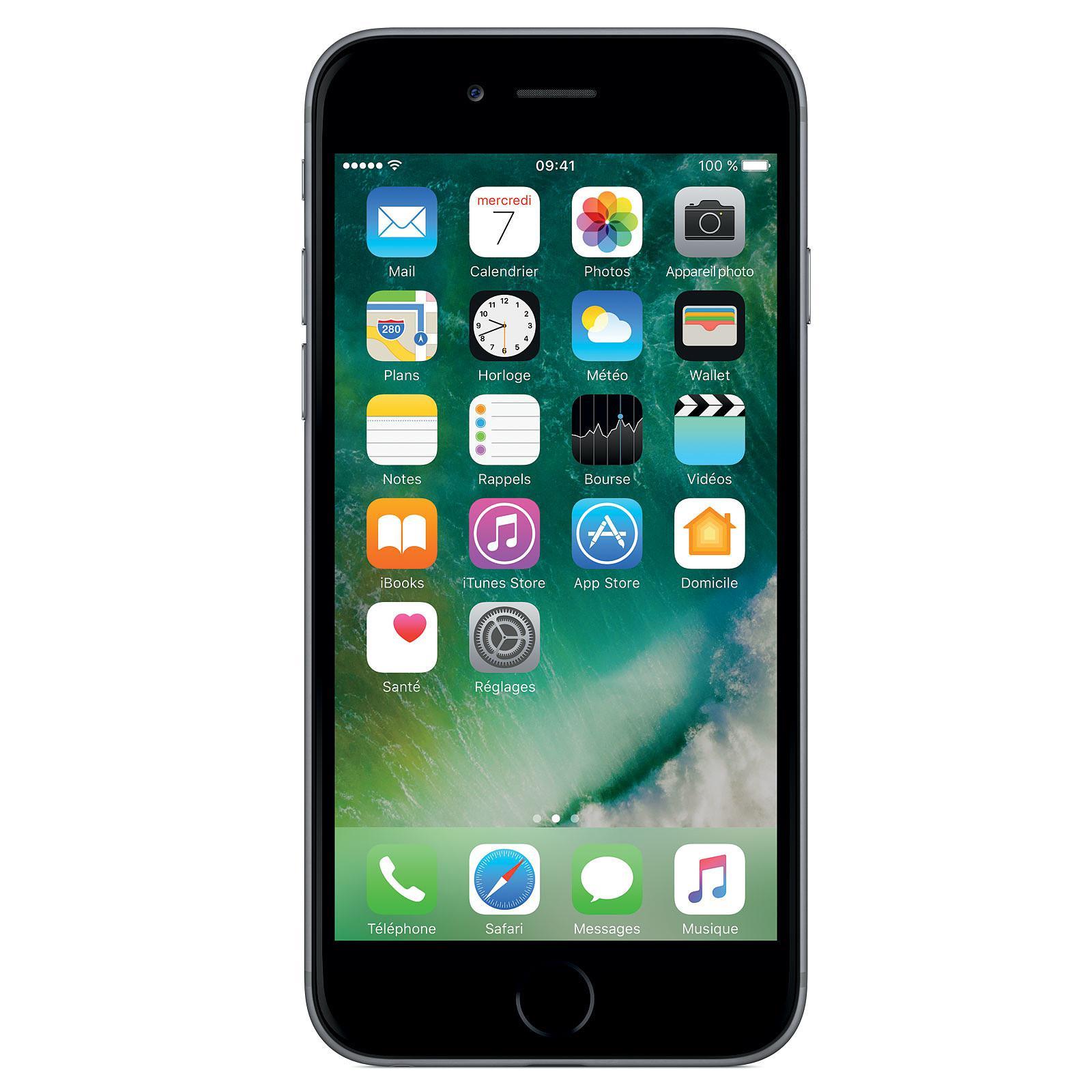 "Smartphone 4.7"" Apple iPhone 6 (HD+ Retina, A8, 1 Go de RAM, 16 Go) - reconditionné Stallone"