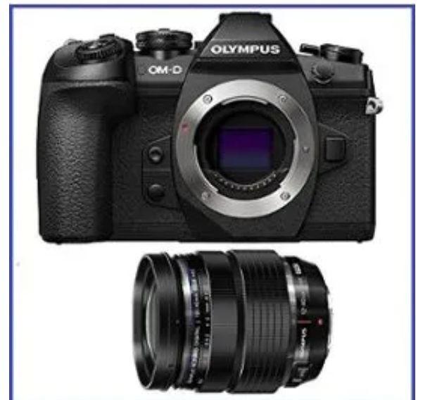 Appareil Photo Olympus OM-D E-M1 Mark II + 12-40mm Black (+58€ en Rakuten Points)