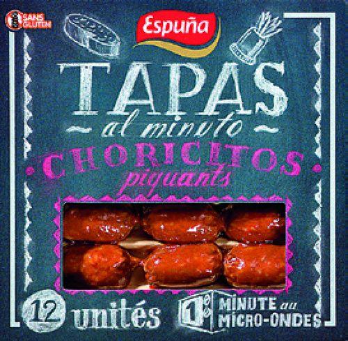 Tapas minibrochettes Choricitos piquants Espuna - 80 g