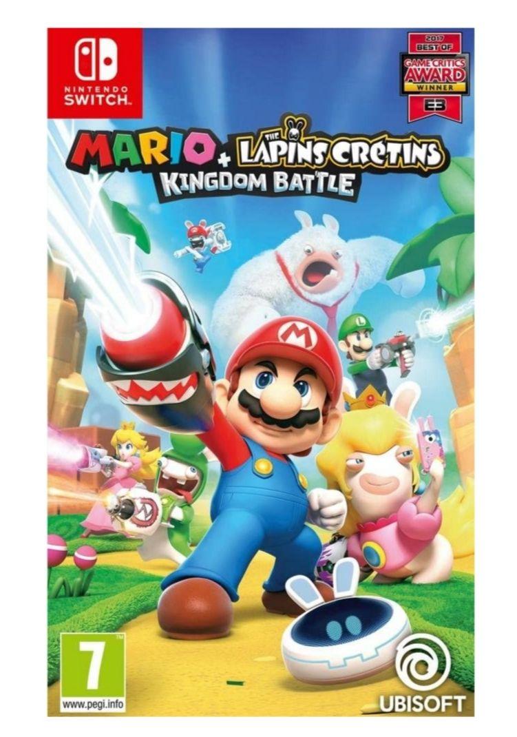 Mario + The Lapins Crétins: Kingdom Battle sur Switch