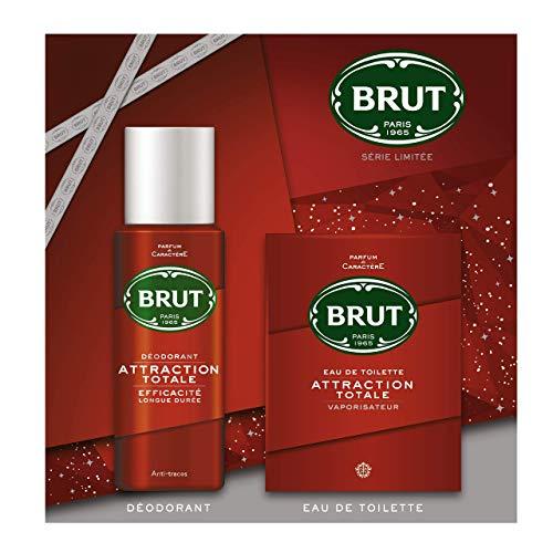 Coffret 2 produits Brut Attraction Homme: Eau de Toilette 100ml + Déodorant 200ml