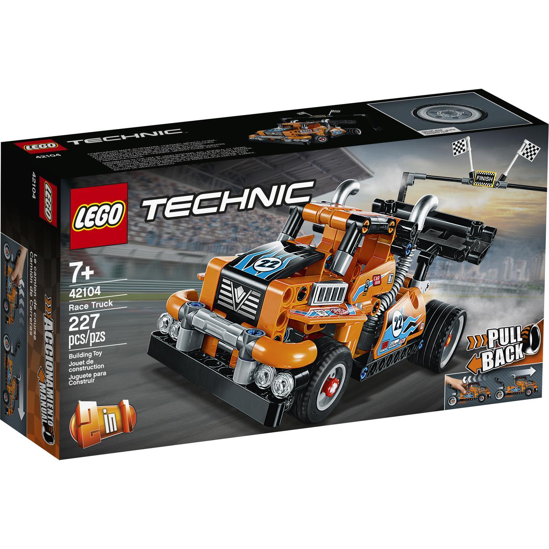 Lego Technic - Le camion de course 42104 (via 1,69€ sur la carte fidélité)