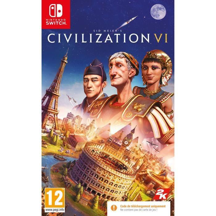 Jeu Civilization VI sur Nintendo Switch