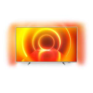 "TV 58"" Philips 58PUS7855 - 4K UHD, HDR10+, Dolby Vision & Atmos, Ambilight 3 côtés, Smart TV"
