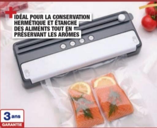 Thermosoudeuse alimentaire - 120w + 1 rouleau + 5 sacs [machine mise sous vide]