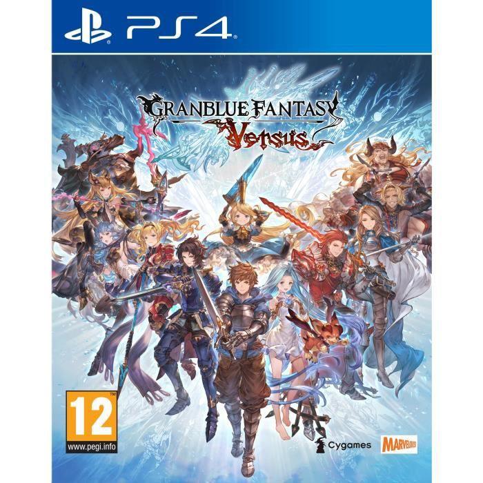 Jeu Granblue Fantasy Versus sur PS4