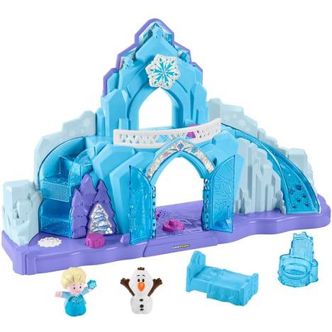 Jouet Fisher Price : Le palais de glace d'Elsa (La reine des neiges)