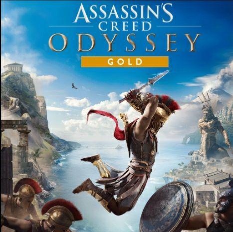 Assassin's Creed Odyssey - Gold Edition sur PS4 (Dématérialisé)