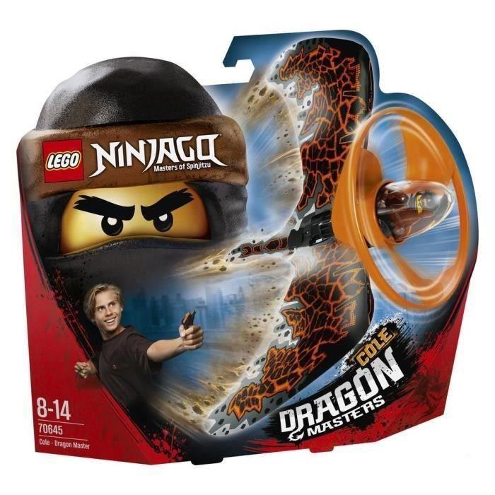 Lego Ninjago 70645 Cole - Le Maître du Dragon