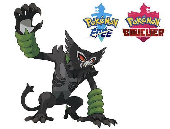 Pokémon Zarude offert sur Pokémon Epée & Bouclier (Dématérialisé)