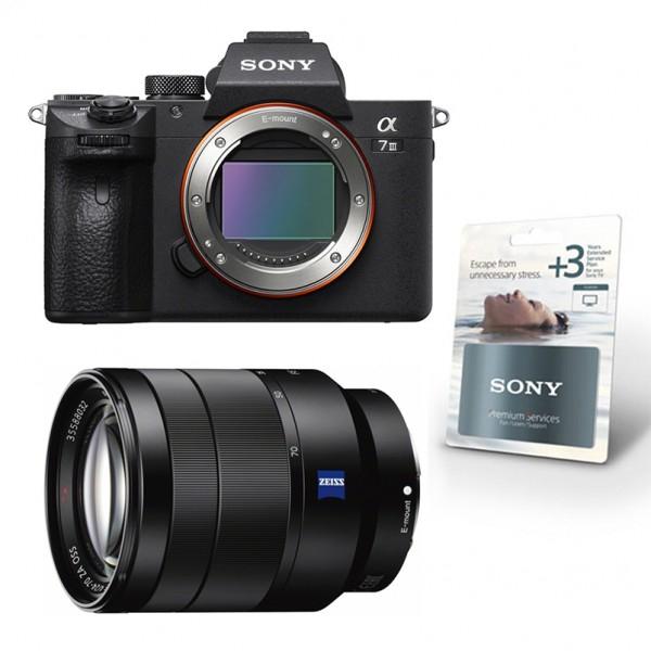 Appareil Photo Numérique Hybride Sony Alpha 7 III + Objectif Sony 24-70/4 ZEISS OSS FE (images-photo.com)