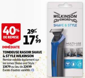 Tondeuse Wilkinson Shave & Style