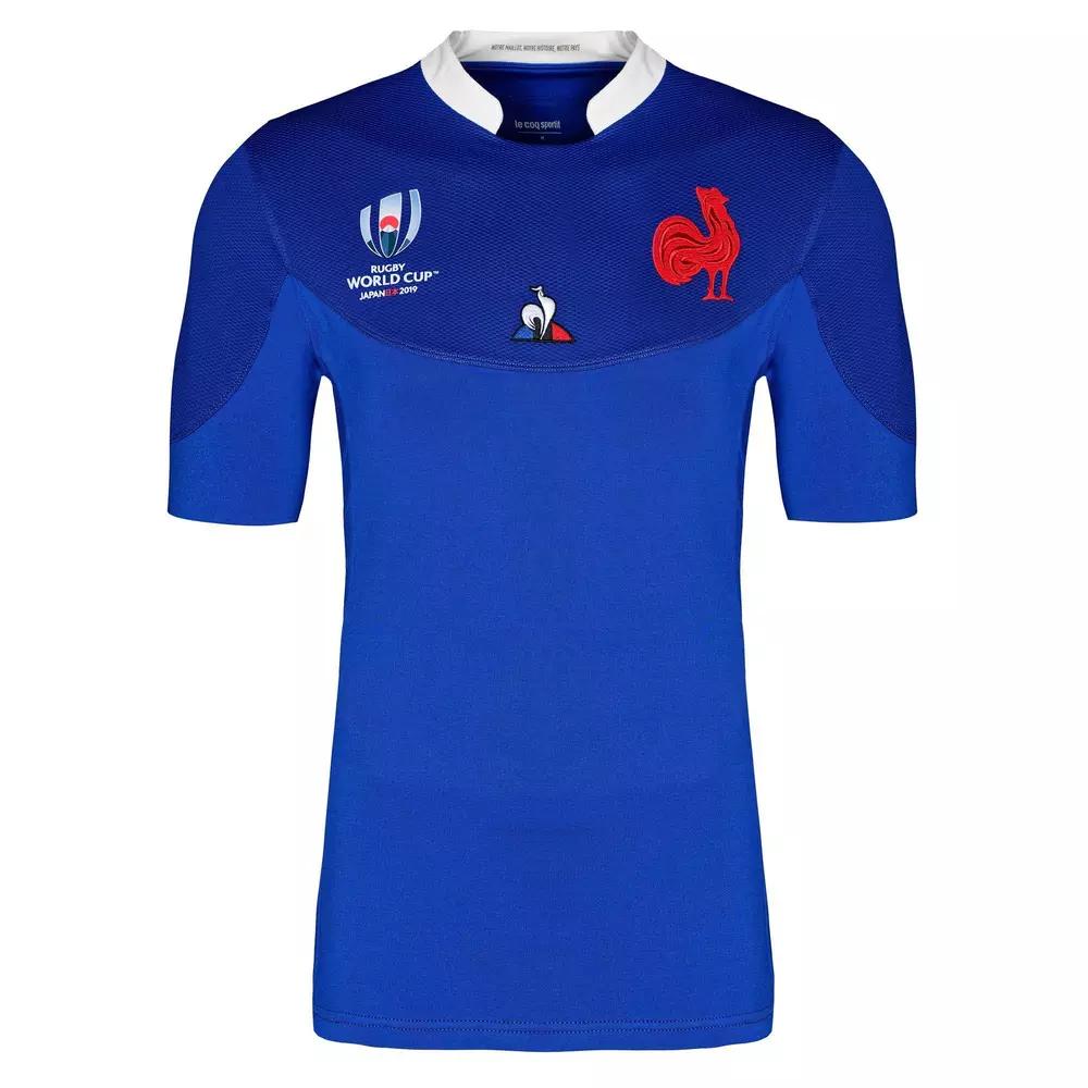 Maillot de rugby Replica FFR XV Coupe du monde 2019 - Taille XL