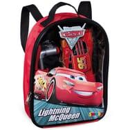 Ensemble sac à dos bricolage et outils avec voiture Flash McQueen Smoby Cars 3