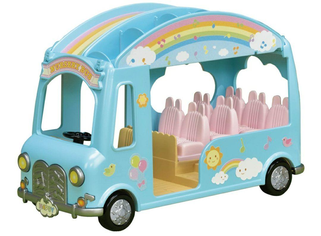 Sylvanian Families - Le Bus Arc-en-Ciel des Bébés