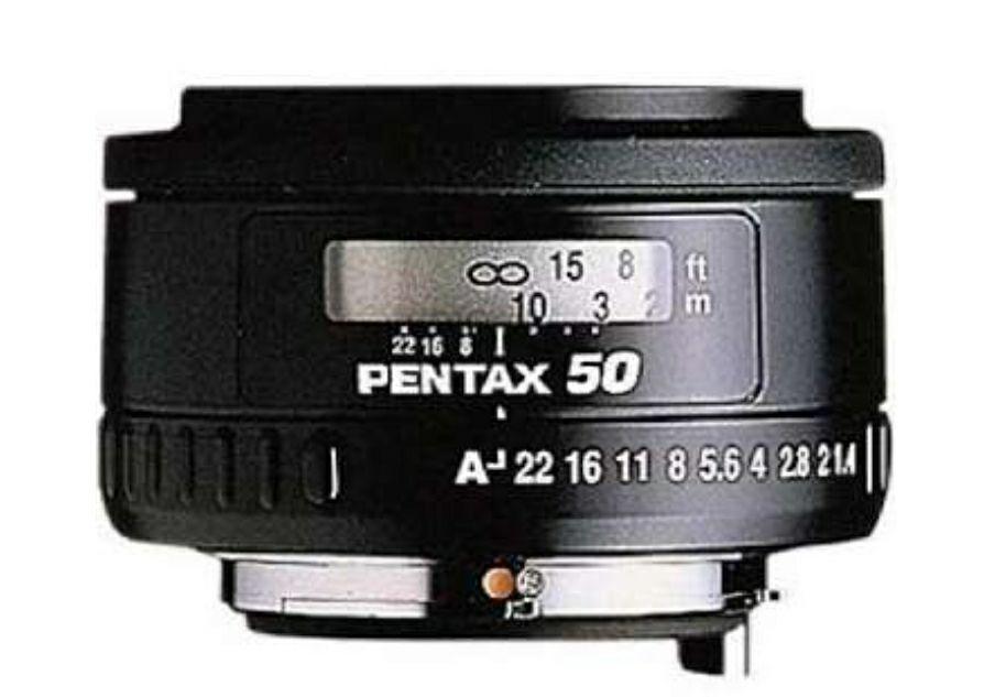 Objectif Pentax 50mm f/1.4 SMC FA