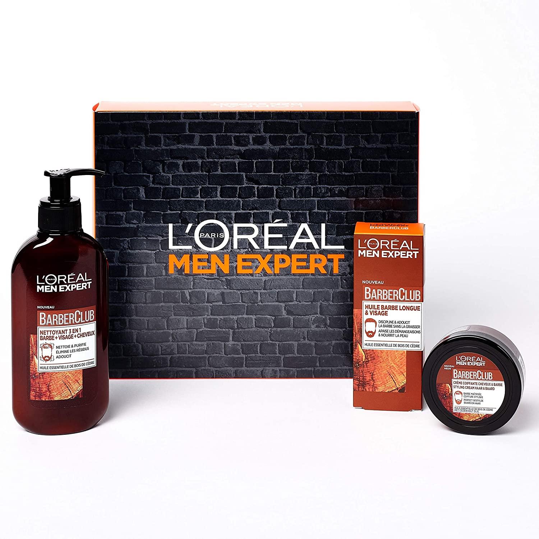 Sélection de coffrets L'Oréal en Promotion - Ex: Coffret Men Expert BarberClub