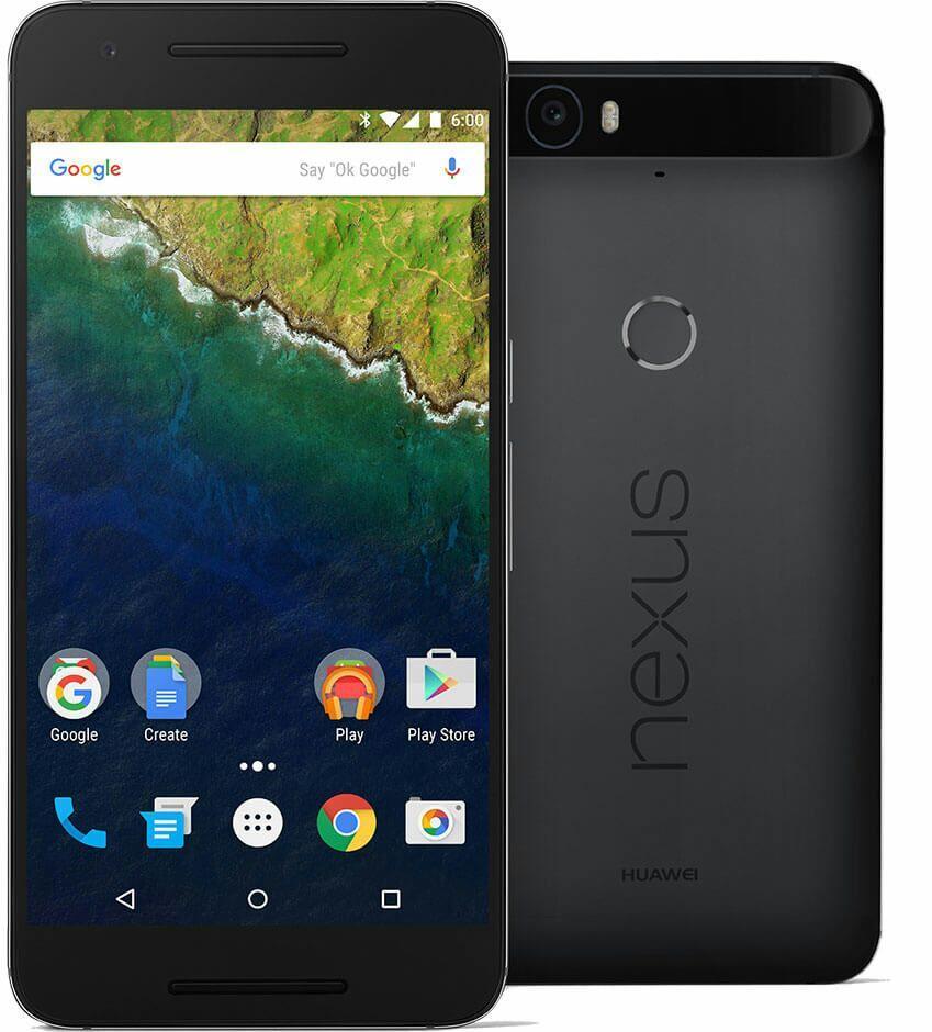 """Smartphone 5.7"""" Nexus 6P - 32 Go Noir"""