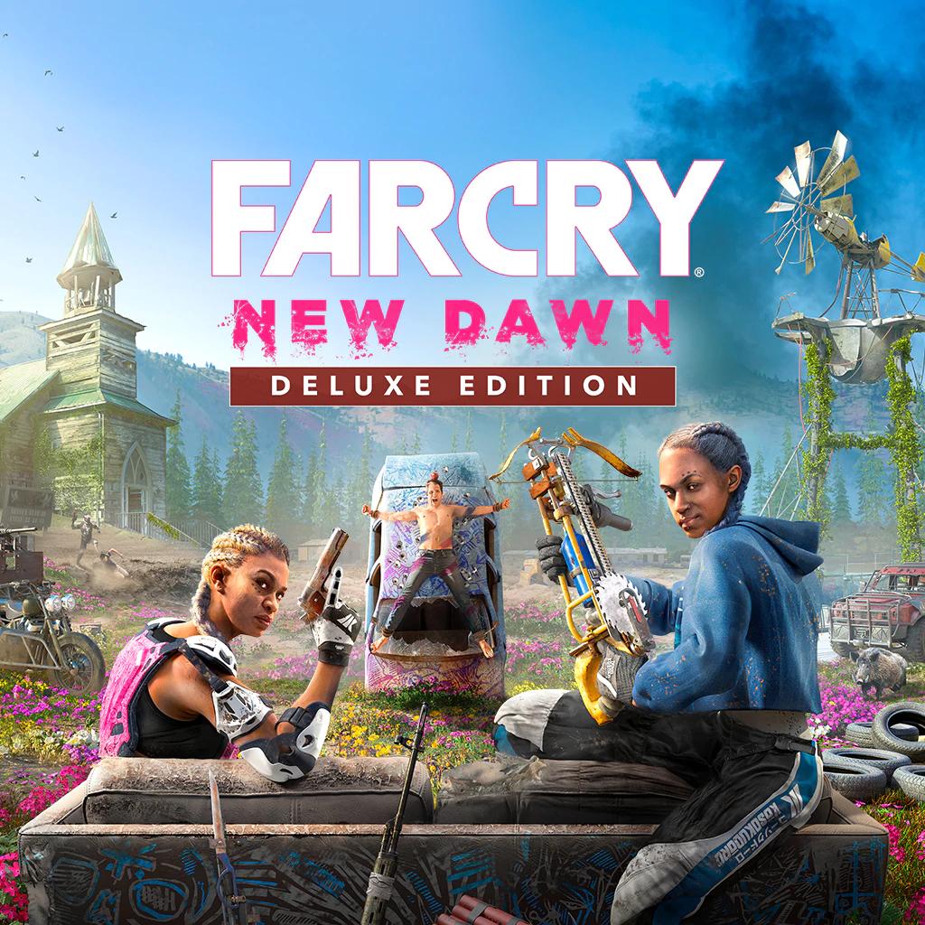 Sélection de jeux vidéo sur PS4 en promotion (dématérialisés) - Ex : Far Cry New Dawn Édition Deluxe