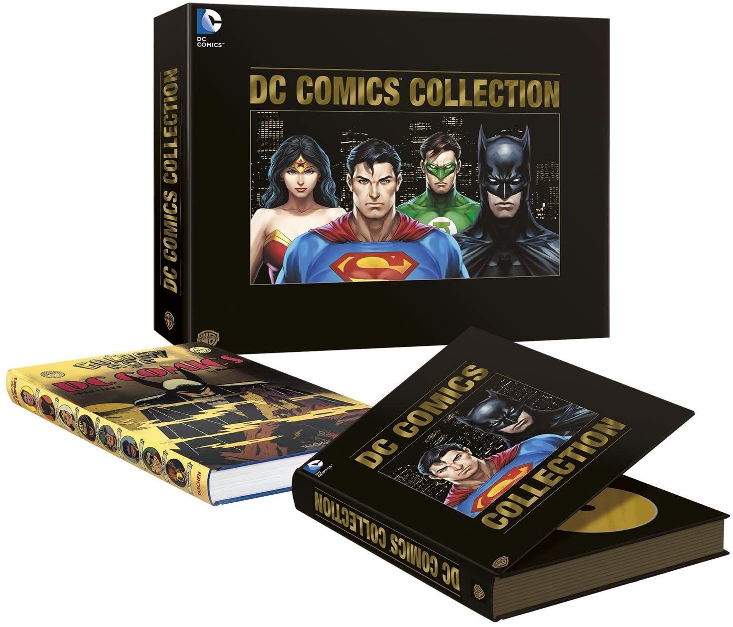 Coffret DVD L'Âge d'or DC Comics (Édition Limitée et Numérotée)