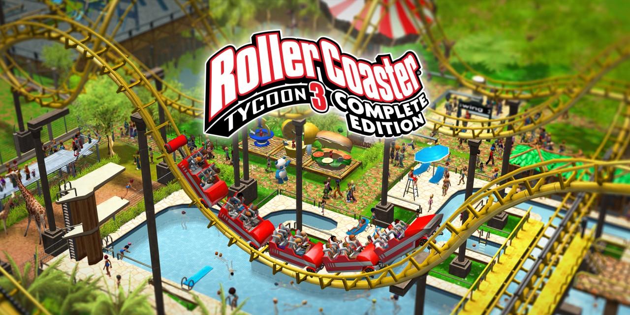 Jeu RollerCoaster Tycoon 3 Complete Edition sur Nintendo Switch (Dématérialisé)