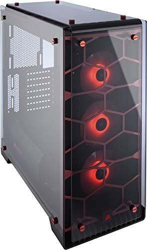 Boîtier PC Corsair Crystal 570X RGB - red