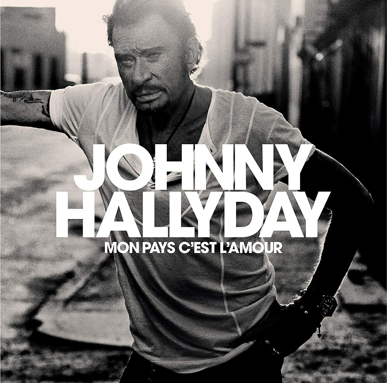 CD Johnny Hallyday - Mon pays c'est l'amour (édition collector)